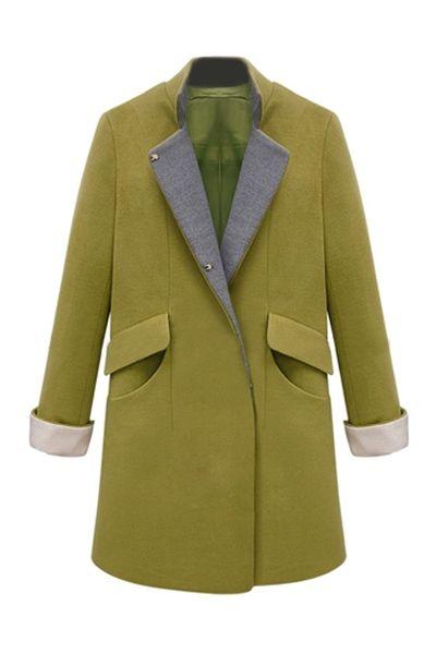 Pocket Detail Coat