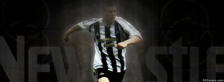 Newcastle United James Milner Facebook Covers