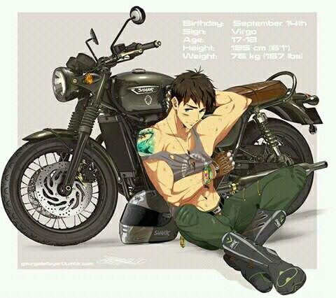 Sousuke Yamazaki from Free! Hot damn...