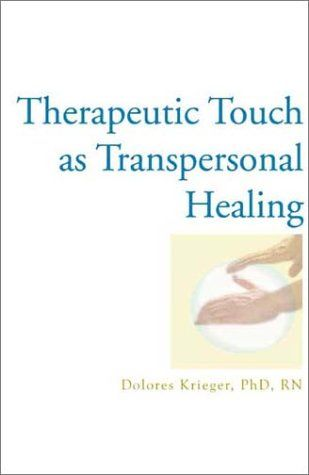 Therapeutic Touch as Transpersonal Healing by Dolores Krieger http://www.amazon.com/dp/1590560108/ref=cm_sw_r_pi_dp_dis0vb0HK3MYC
