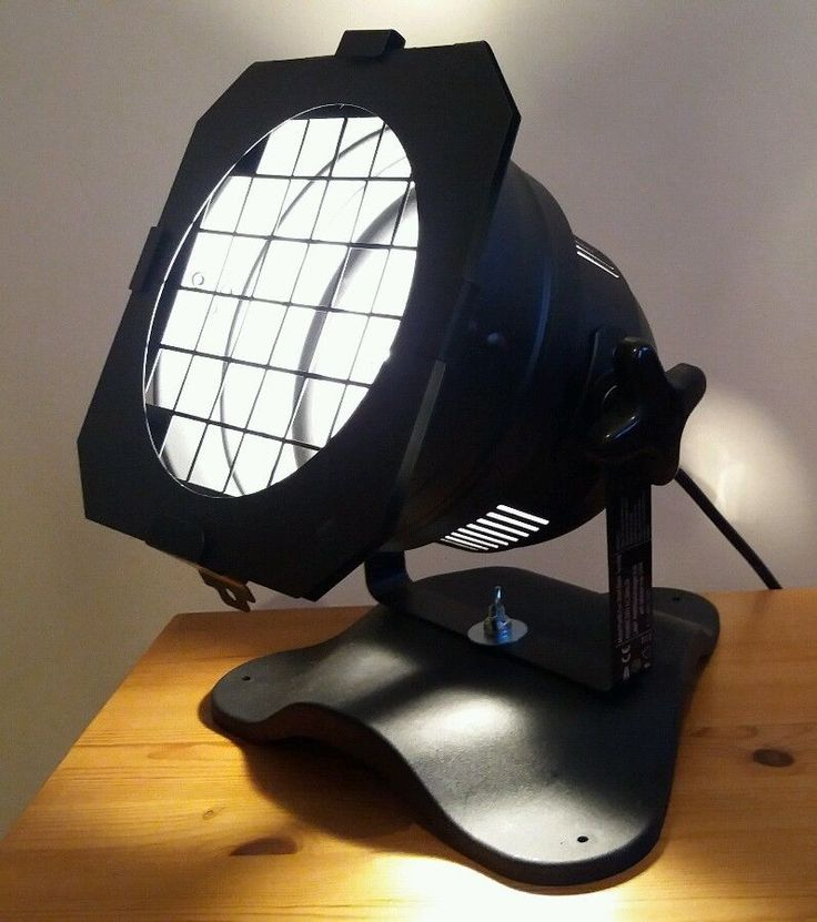 CLASSIC VINTAGE INDUSTRIAL STYLE FLOOR SPOT LIGHT LAMP BASE THEATRE PHOTOGRAPHY