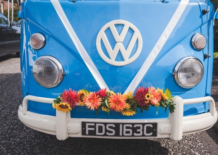 Vintage VW Wedding Car Edinburgh By Green Photography