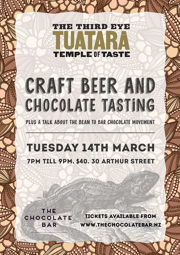 Craft Beer and Chocolate Tasting - 14th March