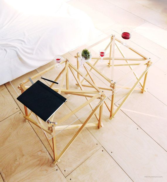 STICKS 2 tables combo discount coffee table / by MKLNfurniture