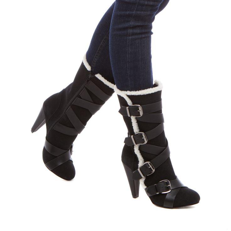 Savanha Heeled Boots for Winter