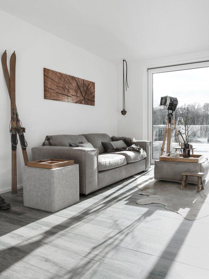 Die besten 25+ kleine gemütliche Wohnung Ideen auf Pinterest - moderner alpenlook schlafzimmer ideen
