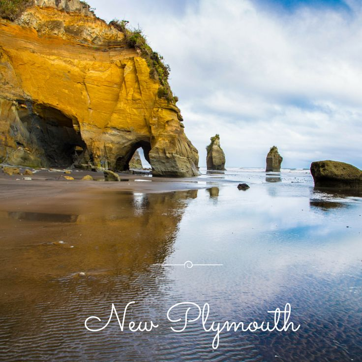 The Three Sisters, New Plymouth, New Zealand