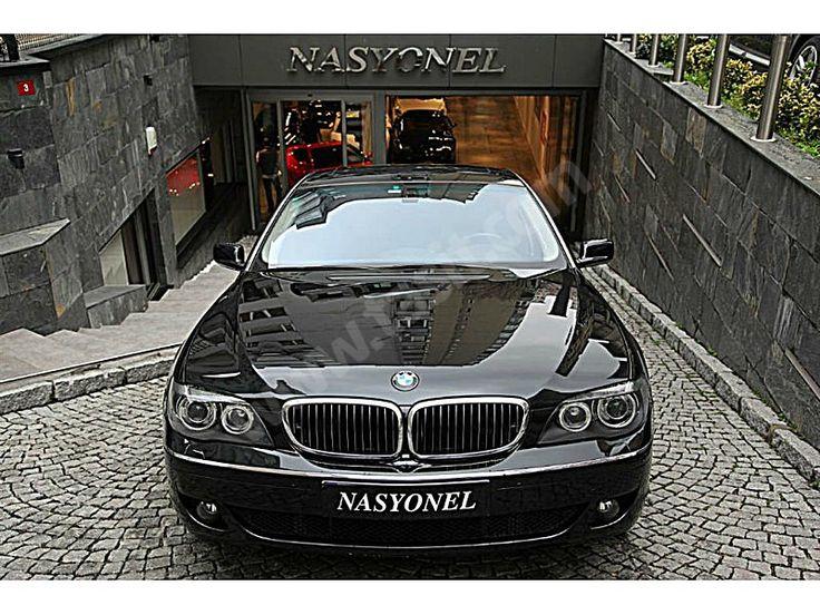 BMW 7 Serisi - 2007 BMW 730 D BORUSAN ÇIKIŞLI NASYONEL'DEN