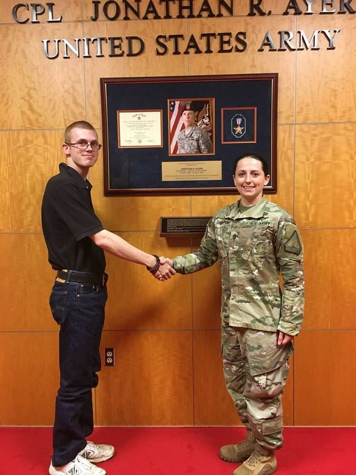"""""""I joined the Georgia National Guard to better myself and my future. With the help of the GI Bill, I plan on attending college to become an NCO or go back into the civilian job field with a job I truly enjoy."""" - Matthew Fry"""
