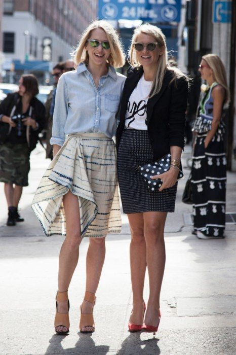 Photos: Best-Dressed Street Style at New York Spring 2014 Fashion Week | Vanity Fair
