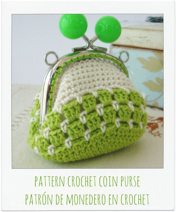 PATTERN Crochet Coin Purse Model nº 19 by PitusasyPetetes on Etsy