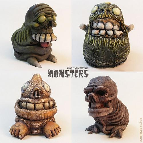 Artist Chris Moore's brilliant resin toys