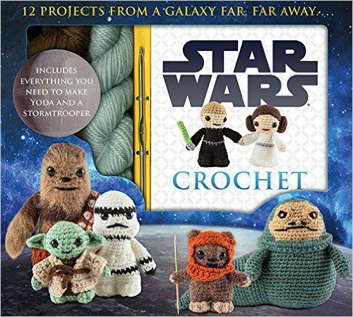 Star Wars Crochet (Crochet Kits): Lucy Collin: 9781626863262: Amazon.com: Books  Found instructions for your cake topper.