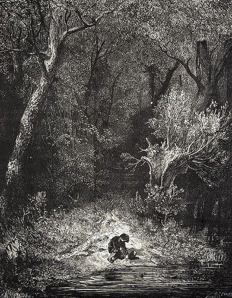 Le Petit Poucet / Gustave Doré
