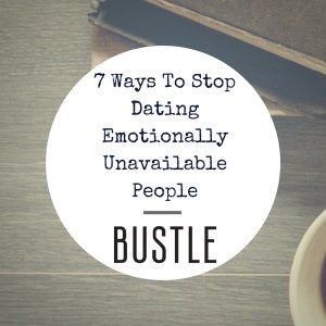 Signs you are dating someone emotionally unavailable