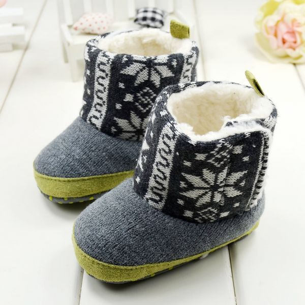 Free shipping 2013 winter warm snow boots 13cm fashion totem baby boy and  girls toddlers shoes