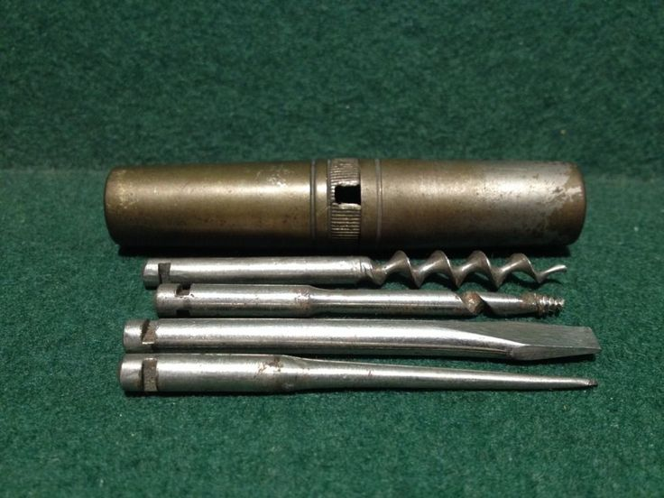 Antique Plated Brass Pocket Roundel Ww1 Multi Tool Kit