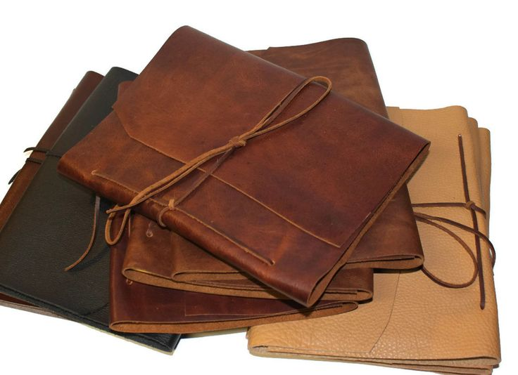 Leather Journal Sketch Book. $35.00, via Etsy.