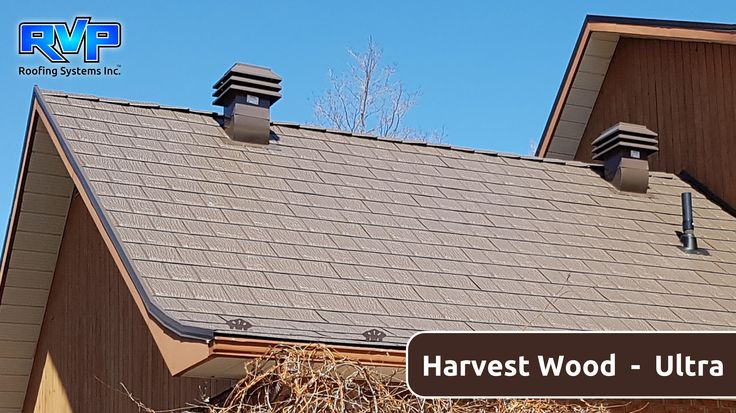 Harvest Wood, a beautiful and earthy colour that compliments this country home.  Take a look at more at www.rvp-roofing.com  Don't forget to like and pin!  #RVP #highstrengthsteel #permanentroof #armadura  #harvestwood