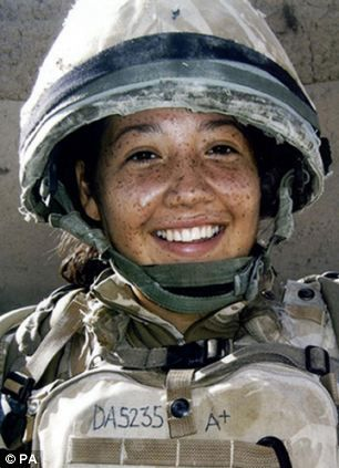 Corporal Channing Day from 3 Medical Regiment - killed in Afhhanistan Nov 2012