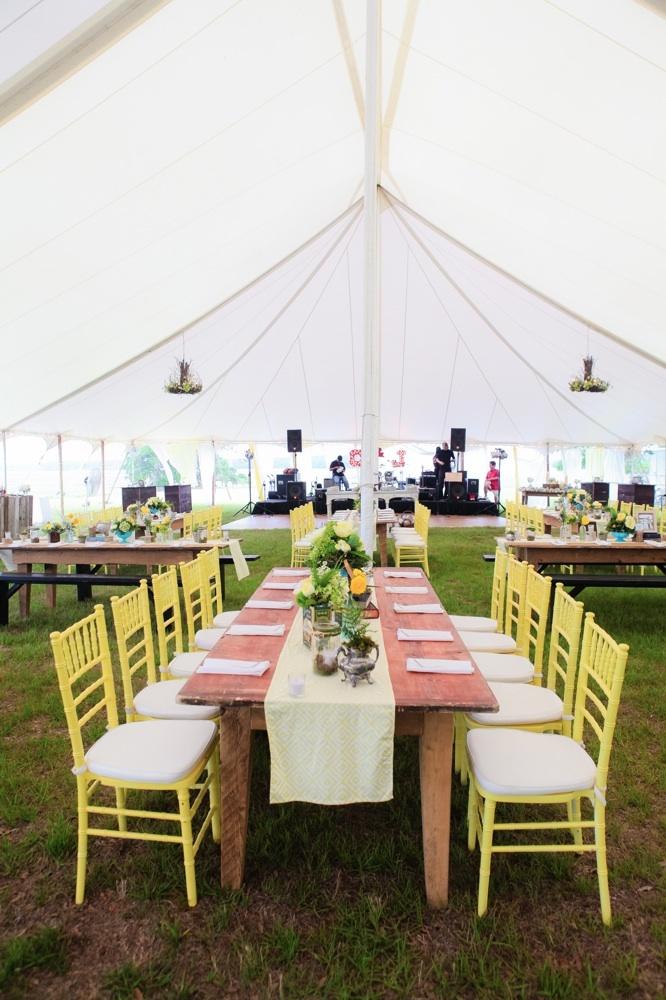 Custom Painted Chivari Chairs    From Ooh! Events, Charleston, SC