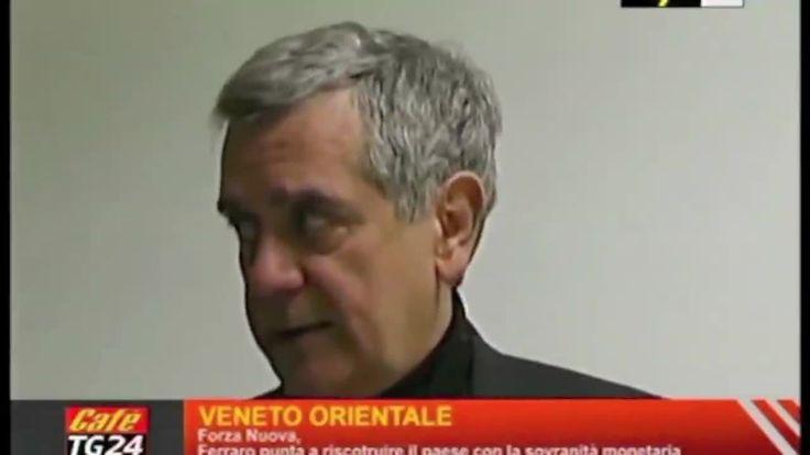 61 Paolo Ferraro Intervista a tg24 cafè UNIONE CDD per la la sovranità monetaria e per la alternativa sociale cristiana e socialista alle caste