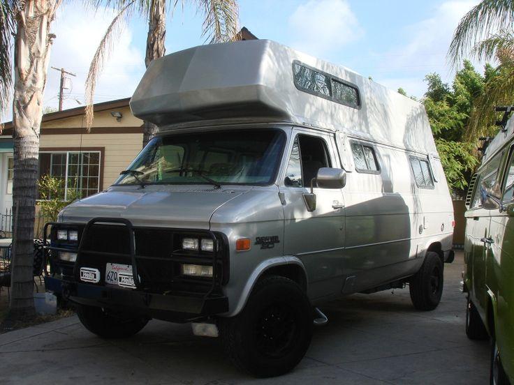 Chevrolet Conversion Van Mini Off Road RV