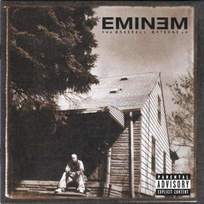 Eminem, The Marshall Mathers LP (2000) - Jonathan Mannion Tells All: The Stories Behind His 25 Favorite Album Covers | Complex