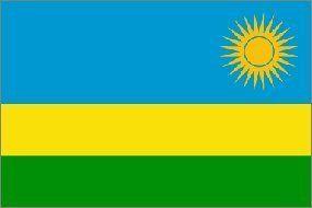3x5 Foot Polyester Rwanda Flag by BCN. $1.49. 2 grommets. polyester. 3X5 foot polyester Rwanda flag. 3X5 foot polyester Rwanda flag