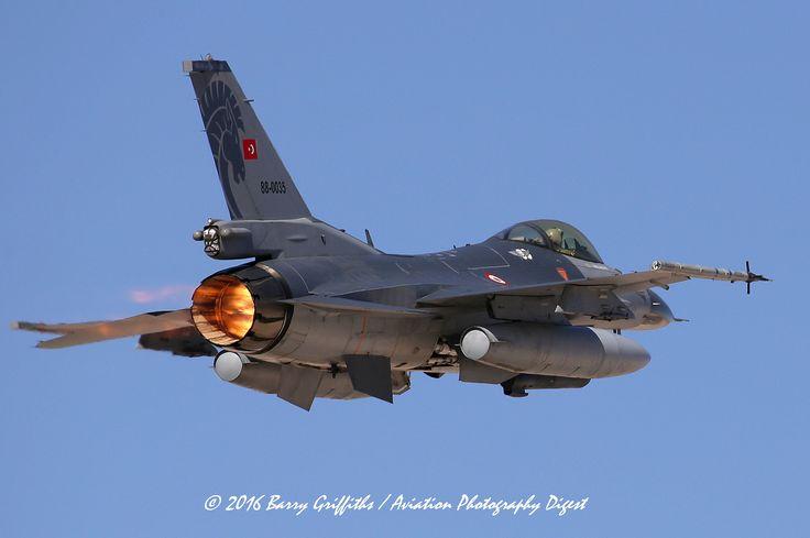 LAUNCH: RED FLAG 16-2 General Dynamics (Turkish Aerospace Industries - TIA) F-16C Freedom Fighter 88-0035 Turkish Air Force (Türk Hava Kuvvetleri)
