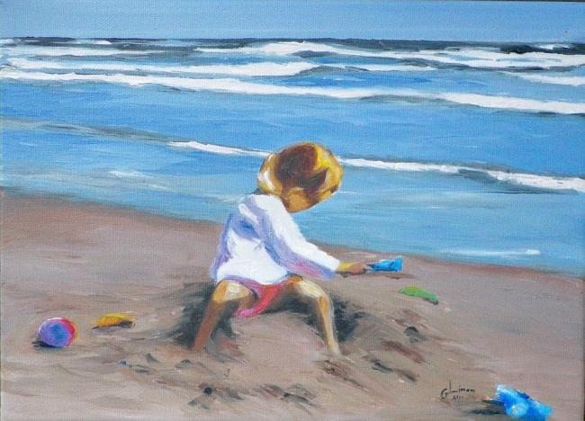 paté de sable (Paysages de Bord de Mer)