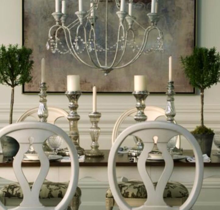 Ethan Allen Romantic Dining Rooms.