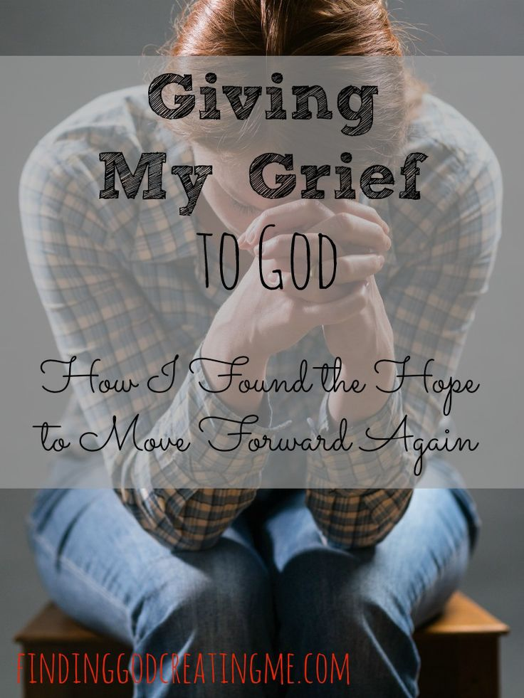 While I knew the only way to heal was to give my grief to God, I wasn't sure exactly how to. This is how I found the hope to move forward in Him.