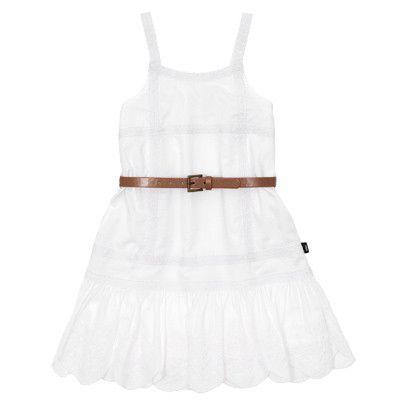 Fred Bare girls Lace ribbon dress