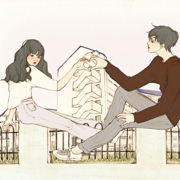 (이렇게 너와 나 You and me) 하트는 둘이 만드는 거지 요렇게 너와 나로 연결된 또 하나의 심장