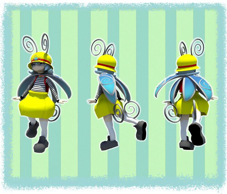 Beetle Girl by Remely.deviantart.com on @deviantART