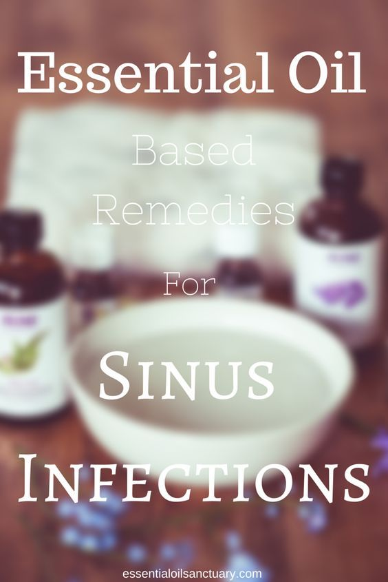 5 Essential Oil Based Remedies for a Sinus Infection. Learn this formulation to treat sinus infections. Plenty of different applications, Plus additional non-essential oil related tips and tricks for treating and preventing sinus infections.