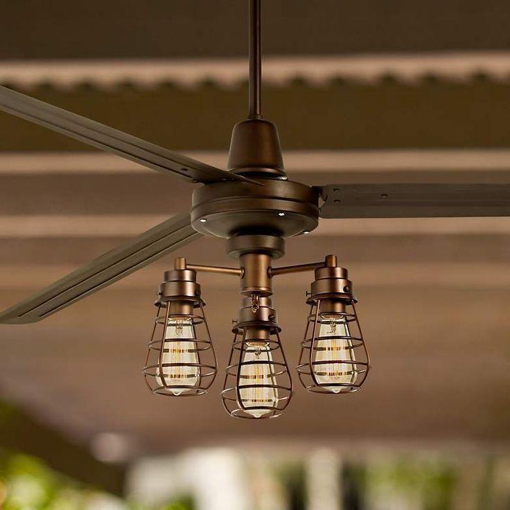 ceiling fan industrial style. ceiling fan industrial style cage new i
