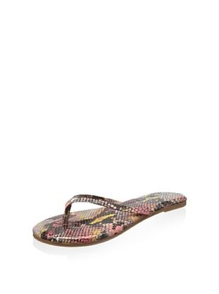 51% OFF Yosi Samra Women's Roee Electric Python Sandal