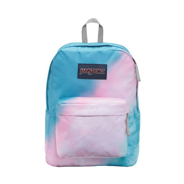 """JanSport High Stakes 16.7"""" Day Backpack Sun Fade ($40) ❤ liked on Polyvore featuring bags, backpacks, padded backpack, jansport daypack, jansport rucksack, knapsack bag and daypack bag"""