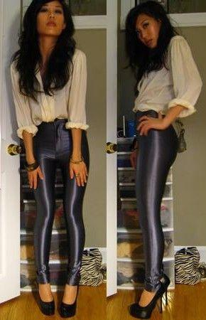 American Apparel Disco Pants... Hotness!