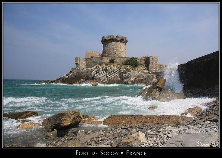 65 best images about france basque country pais vasco - Fort de socoa ...