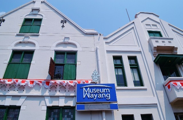 Museum of Shadow Puppet (Wayang) in the old city of Jakarta was previously De Oude Hollandsche Kerk (The Old Dutch Church) built in 1640