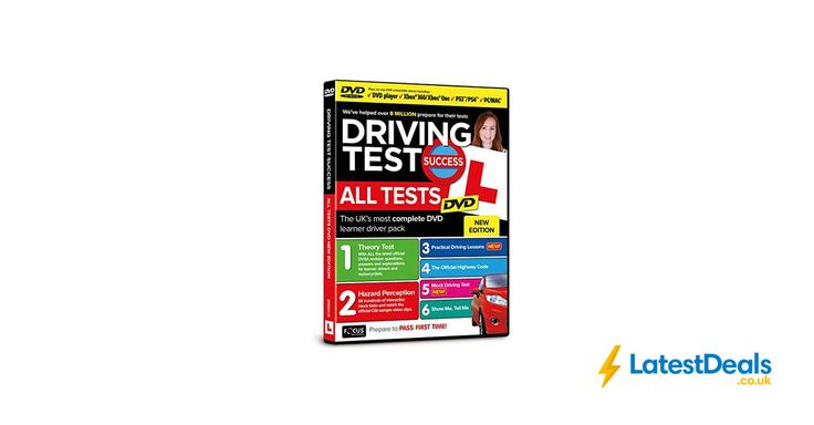 Driving Test Success All Tests DVD 2017 Edition, £8.95 at Amazon UK