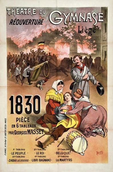 MICHELE - Liège 1830 Théâtre du Gymnase - Paris Imp. 1897 - 1 Affiche [...], Le Tour du Monde par L'affiche (Première Vacation) à Artprecium