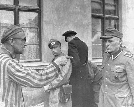 Buchenwald Survivor Identifies Guard who killed women and children