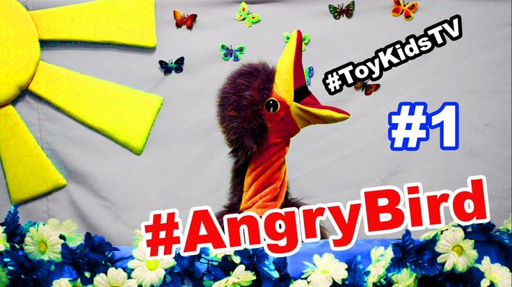 Toy Kids TV Angry Birds episode #1