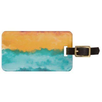 Storm at Coast Bag Tag - summer gifts season diy template ideas