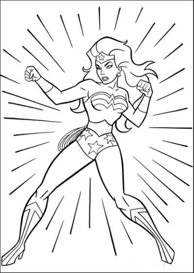 fun coloring pages wonder woman - Fun Coloring Pages For Kids