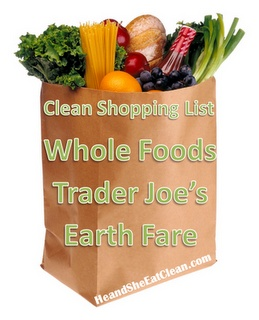 He and She Eat Clean: A Guide to Eating Clean... Married!: Clean Shopping (Part 3) :: Specialty Stores #eatclean #cleaneating #shoppinglist